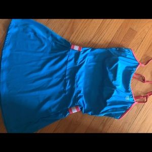Wilson blue tennis dress